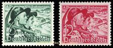 EBS Germany 1938 Sudetenland Plebiscite Czechoslovakia Michel 684-685 MH*