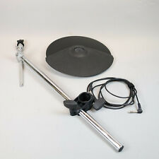 Roland CY-8 Dual Trigger Cymbal & Boom Cymbal Arm & Rack Clamp V-Drum & Wire