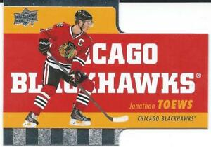 2015-16 Upper Deck Tim Hortons Hockey NHL Die Cut JONATHAN TOEWS #TH-10 Chicago