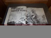 1973 Great Battle Fleets Book by Oliver Warner