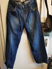 sir benni Miles baggy jeans in Blau w 38 l 34