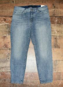 NEW $99 Lucky Brand Women Low Rise Lolita Cropped Jeans Sz 10 Stretch NWT B50
