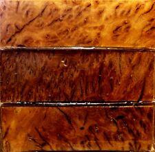 Australian Bimble Box Burl Wood Knife Blocks (Resin Cast)