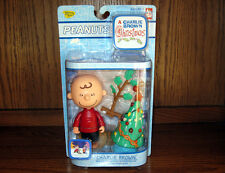 Peanuts CHARLIE BROWN CHRISTMAS CHARLIE BROWN Figure Set - Christmas Tree! NEW