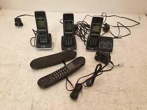 BT 6500 Trio Digital Cordless Phones Used Good Conditions (Y1)