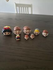 Disney princess Snow white lot Vinyl Tsum Tsum HAPPY Dwarf Grumpy