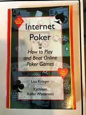 INTERNET POKER : How to Play and Beat Online Poker Games-Watterson & Kriegr w/CD