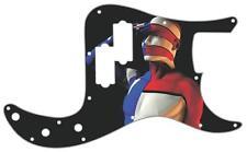 P Bass Precision Graphic Pickguard Custom Fender 13 Hole Guitar American Salute