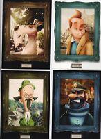 Carte Postale Tintin. Série 6 cartes par Edgar Rozo. Collection IMAGES DE TINTIN
