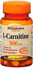 Sundown L-Carnitine 500 mg Tablets 30 Tablets