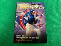 2003 Topps Record Breakers #AR1 Alex Rodriguez Texas Rangers