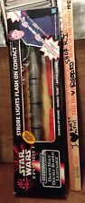 Darth Maul Double-Bladed Electronic Lightsaber HUMS! Star Wars MISB 5-FEET RARE!