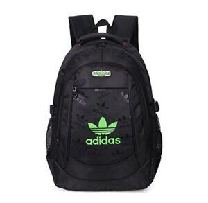 Adidas Sports Backpack - Black/Green (Brand New)