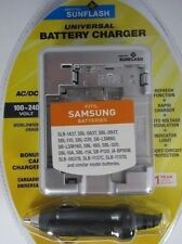 Samsung SLB1437/0837/0937& Similar Universal Charger by Digital Sunflash -Silver