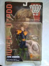 Judge anderson figure.  2000ad. reaction toys