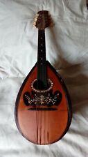Ancienne mandoline signée JACOMONI ROMEO décorée de nacre