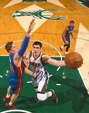 ERSAN ILYASOVA signed MILWAUKEE BUCKS 8X10 PHOTO COA