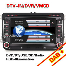 DAB+ Autoradio GPS NAVI Für VW Passat Golf Touran Polo Jetta Eos Seat OPS DVD 3G