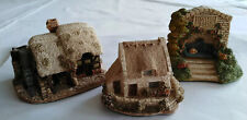 3 x Lilliput Lane Models Watermill , Tanners Cottage & Cosy Corner       Lot 2