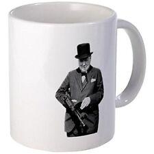 11oz mug Churchill's Tommy Gun