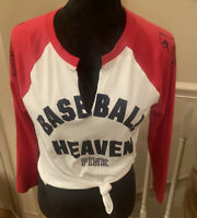 Victoria's Secret PINK MBL Collection St. Louis Cardinals-New W/Tags Size Small