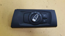 BMW E90 E91 LCI 320D 330i 08-12 HEADLIGHT CONTROL PANEL SWITCH AND TRIM 9169404