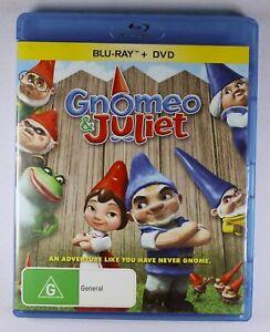 Gnomeo and Juliet Blu Ray FREE POST