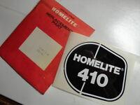 Genuine Homelite 410 Chainsaw Decal 93415-A