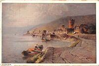 BG39126 rudesheim painting postcard   germany