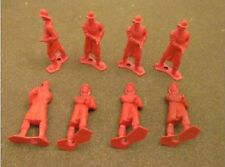 MPC Fireman MPC-300Red 8 70-100mm red plastic figures in 1 pose
