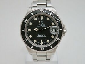 1993 Tudor Prince Oysterdate Submariner 200m 75090 Automatic Diving Wristwatch