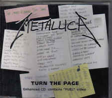 Metallica-Turn The Page cd maxi single incl video