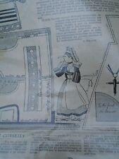 """ANCIEN PATRON POUR LA POUPEE """" BLEUETTE """"COSTUME  DE BRETONNE  20 FEVRIER 1930"""