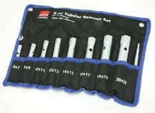 Tubular Box Spanner Set 6mm - 22mm Spark Plug wrench 8 Pc Hilka