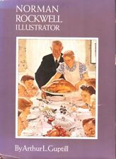 """Norman Rockwell, Illustrator by Arthur Guptill Hb- """"coffee-table"""" book-1975"""