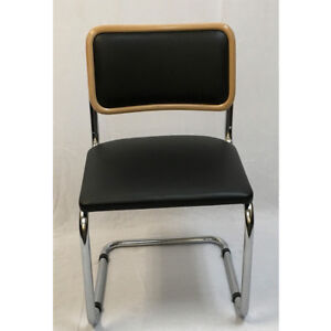 Breuer Metal Chair with Padded back & padded seat