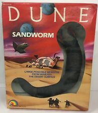 VINTAGE 1984 LJN DUNE Sandworm Large Poseable Monster Figure New In Sealed Box