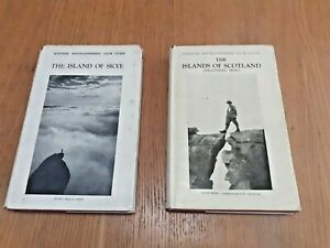 2 Scottish Mountaineering Club Guides from 1950's, Skye and Islands of Scotland