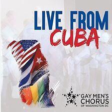Dc Gay Men's Chorus Of Washington - Live from Cuba [New CD]