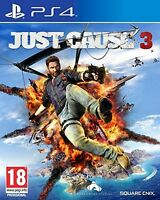 JUST CAUSE 3 III  PS4 NUEVO PRECINTADO EN CASTELLANO PS4