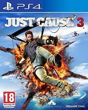 JUST CAUSE 3 III  PS4 NUEVO PRECINTADO EN CASTELLANO PS4
