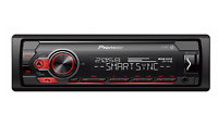 Pioneer MVH-S310BT Mechless car stereo with RDS tuner Bluetooth, USB and Aux-in