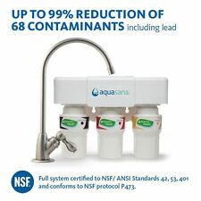 Aquasana Water Filtration System Replacement Filters Cartridges AQ 5300 Series