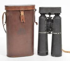 Vintage Hensoldt Wetzlar Binoculars DRP Gebirgs Dialyt 10x RH SS Monogram Case