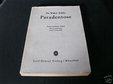 Paradentose - altes Buch 1947 von Dr. Walter Stärke Hanser Verlag München