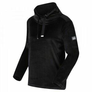 Regatta Hannelore Womens Jumper Hoodie Hooded Velour Fleece Jacket RRP £40