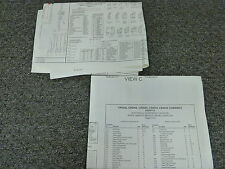 New Holland CR9070 CR9080 Combine Electrical Wiring Diagram Manual 2010