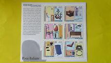 REPUBBLICA ITALIANA 2000 FOGLIETTO NUOVO DESIGN ITALIANO (I) T109