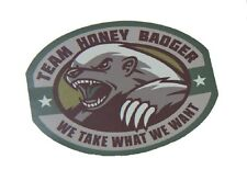 HONEY BADGER MULTICAM TACTICAL MORALE MILITARY CAR VEHICLE WINDOW DECAL STICKER
