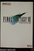 JAPAN Final Fantasy VII Square Official Strategy Guide Book